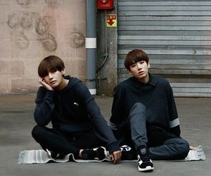 jungkook, bts, and vkook image