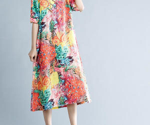 etsy, women dress, and loosedress image