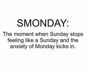 quotes, funny, and monday image