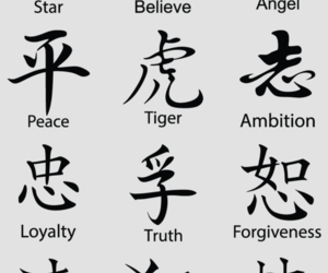 chinese, Tattoos, and meaning image