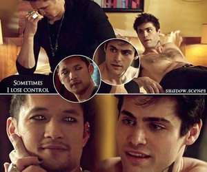 beautiful, harry shum jr, and alec lightwood image