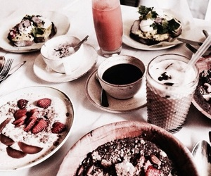 beautiful, food, and drinks image