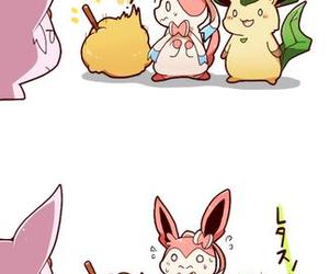 pokemon, flareon, and espeon image