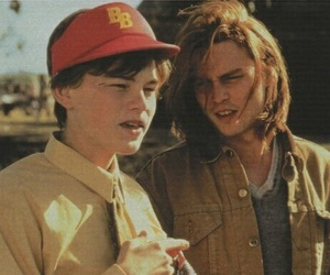 johnny depp, leonardo dicaprio, and boy image