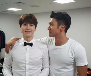 kyuhyun, siwon, and super junior image