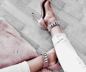 art, heels, and life image