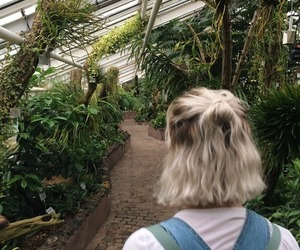 hair, plants, and grunge image