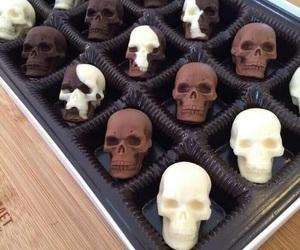 chocolate and skull image