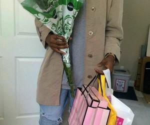 boyfriend, flowers, and victoria secret image