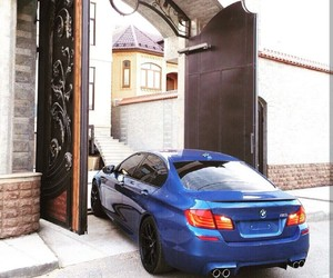 blue, bmw, and love image