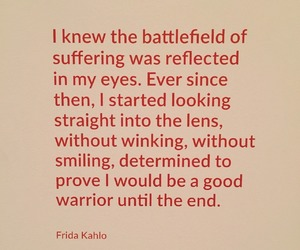 frida kahlo, inspire, and quote image