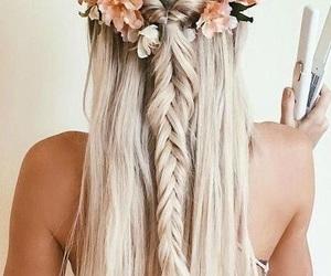 alternative, blonde, and braids image