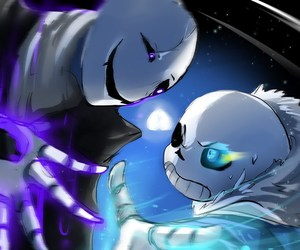 sans, gaster, and undertale image