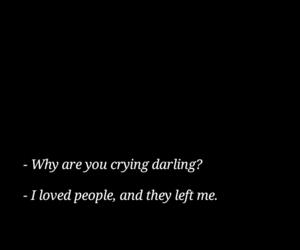 sad, black, and depression image