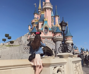 castle, chanel, and disney image