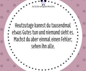 deutsch, german, and spruch image