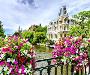 amsterdam, holidays, and netherlands image