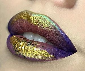 lips and make-up image