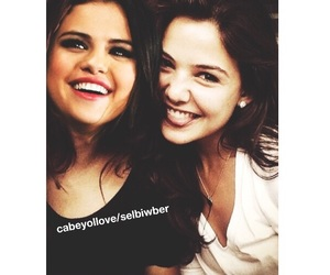 selena gomez, manips, and danielle campbell image