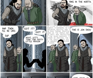 game of thrones, Jon, and got image