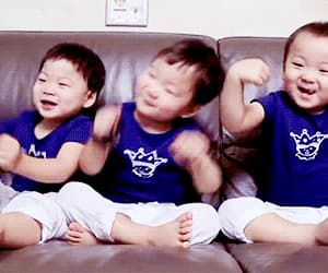 1958, triplets, and minguk image