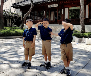 1958, manse, and the triplets image