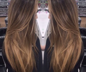 hairdresser, hairstyle, and dye hair image