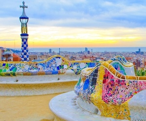 Barcelona, beautiful, and town image