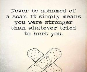 healing, psychology, and scars image