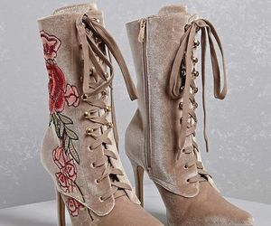 ankle boots, shoes, and i love shoes image