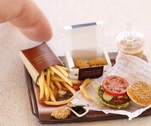cool, food, and hamburguers image