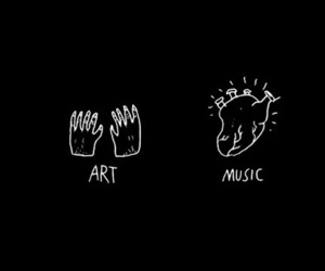 header, art, and music image