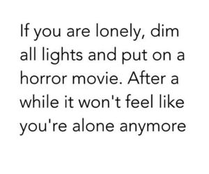 alone, horror, and hate image