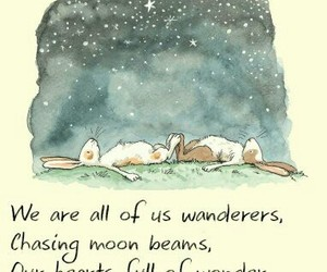 bunnies, dreamer, and goodnight image