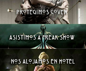 asylum, coven, and cult image