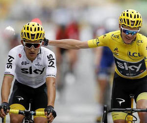 ciclismo, televisione, and sport image
