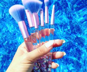 Brushes and make-up image
