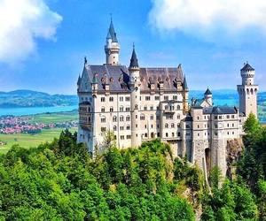 bavaria, Neuschwanstein Castle, and summer image