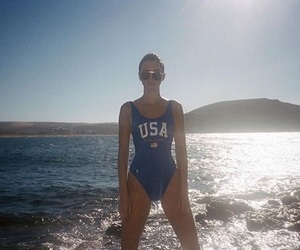 swim suit, usa, and jenner image