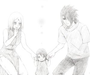 anime, family, and kawaii image