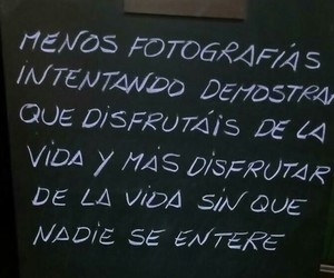 vida, mentira, and frases español image