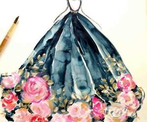 art, fashion, and drawing image