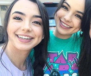 girls, twins, and youtube image