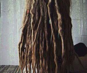 dreadlocks, hair, and dread image