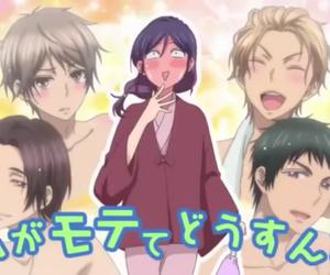 watashi ga motete, anime, and kiss him not me image
