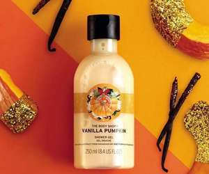 body care, pumpkin, and the bodyshop image