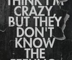 crazy, Lyrics, and song image