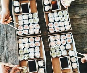 aesthetic, sushi, and tumblr image