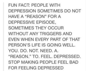 quote, sad, and depression image