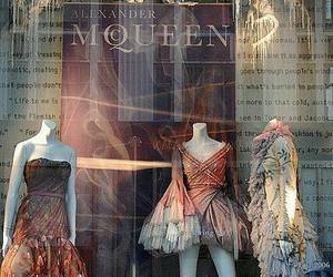 Alexander McQueen, fashion, and dress image